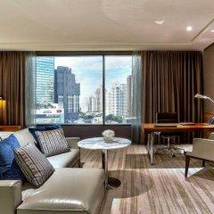 Отель Hilton Sukhumvit Bangkok Таиланд, Бангкок - отзывы, цены и фото номеров - забронировать отель Hilton Sukhumvit Bangkok онлайн комната для гостей фото 5