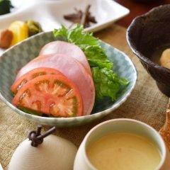 Отель Oyado Hanabou Минамиогуни питание фото 2