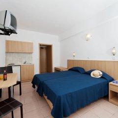 Europa Hotel Rooms & Studios Родос комната для гостей