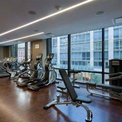 Gansevoort Park Hotel NYC фитнесс-зал
