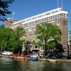 Отель Nh Amsterdam City Centre Амстердам приотельная территория