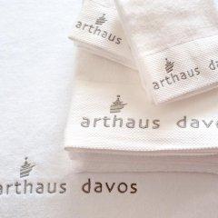 Отель arthausHOTEL Швейцария, Давос - отзывы, цены и фото номеров - забронировать отель arthausHOTEL онлайн ванная фото 2