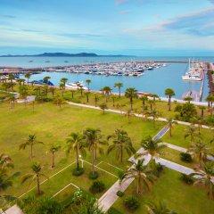 Отель Ocean Marina Yacht Club Таиланд, На Чом Тхиан - отзывы, цены и фото номеров - забронировать отель Ocean Marina Yacht Club онлайн пляж