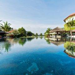 Отель Hoi An Silk Marina Resort & Spa Вьетнам, Хойан - отзывы, цены и фото номеров - забронировать отель Hoi An Silk Marina Resort & Spa онлайн приотельная территория фото 2