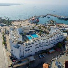 Отель Limanaki Beach Hotel Кипр, Айя-Напа - 1 отзыв об отеле, цены и фото номеров - забронировать отель Limanaki Beach Hotel онлайн пляж фото 2
