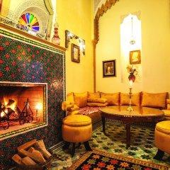 Отель Dar El Kebira Salam Марокко, Рабат - отзывы, цены и фото номеров - забронировать отель Dar El Kebira Salam онлайн интерьер отеля