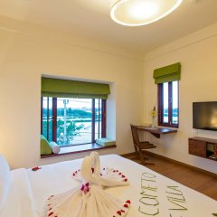The Villa Hoi An Boutique Hotel комната для гостей фото 4