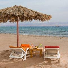 Отель Strand Beach and Golf Taba Heights пляж фото 2