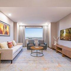 Отель Hyatt Regency Galleria Residence Dubai комната для гостей фото 2
