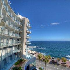 Отель The Preluna Hotel Мальта, Слима - 4 отзыва об отеле, цены и фото номеров - забронировать отель The Preluna Hotel онлайн пляж