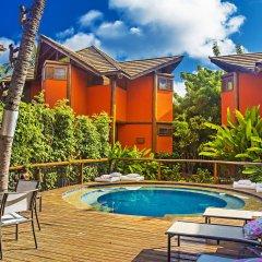 Отель Pousada Triboju бассейн