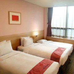 Отель SKYPARK Myeongdong II Южная Корея, Сеул - 1 отзыв об отеле, цены и фото номеров - забронировать отель SKYPARK Myeongdong II онлайн комната для гостей фото 3