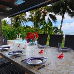 Отель Villa Maharepa Beach by Enjoy Villas Villa 3 питание