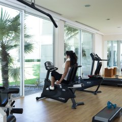 Отель Rodos Palladium Leisure & Wellness Греция, Парадиси - 1 отзыв об отеле, цены и фото номеров - забронировать отель Rodos Palladium Leisure & Wellness онлайн фитнесс-зал