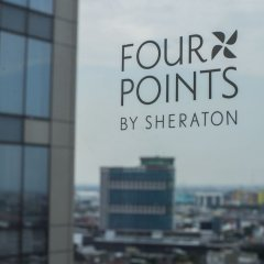 Отель Four Points By Sheraton Surabaya Сурабая фитнесс-зал фото 3