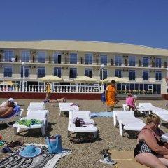 Гостиница Тихая Гавань пляж