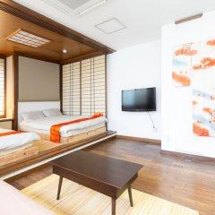 Отель GUESTHOUSE HAKOZAKI GARDEN - Hostel Япония, Фукуока - отзывы, цены и фото номеров - забронировать отель GUESTHOUSE HAKOZAKI GARDEN - Hostel онлайн комната для гостей фото 5