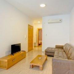 Отель Cosy 1 Bedroom Sliema Apartment, Best Location Мальта, Слима - отзывы, цены и фото номеров - забронировать отель Cosy 1 Bedroom Sliema Apartment, Best Location онлайн комната для гостей фото 3