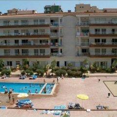 Отель Apartamentos Lotus Испания, Бланес - отзывы, цены и фото номеров - забронировать отель Apartamentos Lotus онлайн пляж