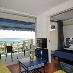Отель Blaumar Hotel Salou Испания, Салоу - 7 отзывов об отеле, цены и фото номеров - забронировать отель Blaumar Hotel Salou онлайн комната для гостей фото 2