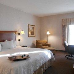 Отель Hampton Inn Columbus-International Airport США, Колумбус - отзывы, цены и фото номеров - забронировать отель Hampton Inn Columbus-International Airport онлайн комната для гостей фото 5