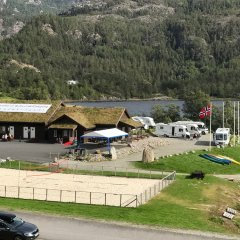 Отель Rullestad Camping парковка