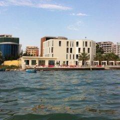 Hotel Bologna Влёра приотельная территория