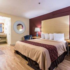 Отель Red Roof Inn Tulare - Downtown/Fairgrounds комната для гостей фото 5
