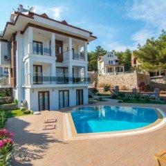 Olympia Villas Турция, Олудениз - отзывы, цены и фото номеров - забронировать отель Olympia Villas онлайн бассейн фото 3