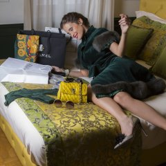 Ambra Cortina Luxury & Fashion Boutique Hotel интерьер отеля фото 3