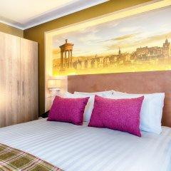 Отель Leonardo Royal Edinburgh Haymarket Великобритания, Эдинбург - отзывы, цены и фото номеров - забронировать отель Leonardo Royal Edinburgh Haymarket онлайн комната для гостей фото 4