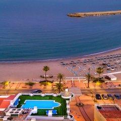 Hotel Villa de Laredo пляж