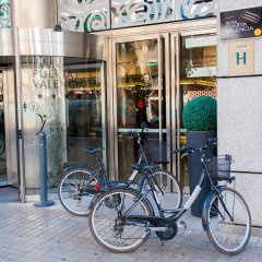 Отель Silken Puerta de Valencia Испания, Валенсия - 5 отзывов об отеле, цены и фото номеров - забронировать отель Silken Puerta de Valencia онлайн спортивное сооружение