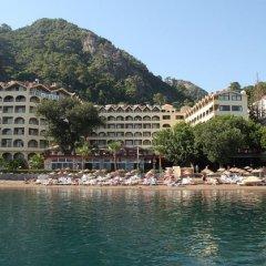 Golmar Beach Турция, Мармарис - отзывы, цены и фото номеров - забронировать отель Golmar Beach онлайн пляж