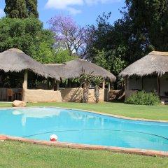 Отель Chrislin African Lodge бассейн