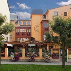 Отель Wellness Hotel Ida Чехия, Франтишкови-Лазне - отзывы, цены и фото номеров - забронировать отель Wellness Hotel Ida онлайн вид на фасад