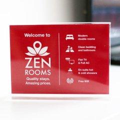 Отель ZEN Rooms Chinatown Bangkok удобства в номере
