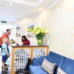 Отель Hanoi Bella Rosa Trendy Hotel Вьетнам, Ханой - отзывы, цены и фото номеров - забронировать отель Hanoi Bella Rosa Trendy Hotel онлайн интерьер отеля фото 3