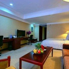 Xianglu Grand Hotel Xiamen Сямынь сейф в номере