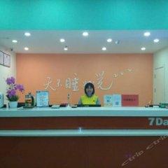 Отель 7 Days Inn (Ganzhou Development Zone Kejia Avenue) Китай, Ганьчжоу - отзывы, цены и фото номеров - забронировать отель 7 Days Inn (Ganzhou Development Zone Kejia Avenue) онлайн интерьер отеля фото 3