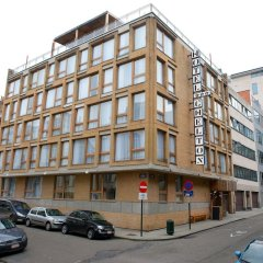 Отель 9Hotel Chelton Бельгия, Брюссель - отзывы, цены и фото номеров - забронировать отель 9Hotel Chelton онлайн вид на фасад