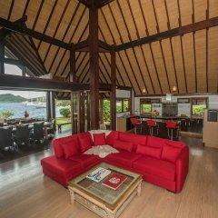 Отель Villa Bora Bora Lagoon Французская Полинезия, Бора-Бора - отзывы, цены и фото номеров - забронировать отель Villa Bora Bora Lagoon онлайн комната для гостей фото 2