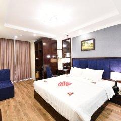 Hanoi Bella Rosa Trendy Hotel комната для гостей