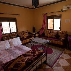 Отель Résidence Rosas Марокко, Уарзазат - отзывы, цены и фото номеров - забронировать отель Résidence Rosas онлайн комната для гостей фото 5