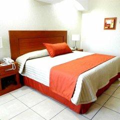Hotel Malibu Гвадалахара комната для гостей фото 5