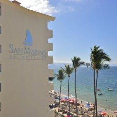 Отель San Marino пляж