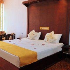 Отель Golden Star Beach Hotel Шри-Ланка, Негомбо - отзывы, цены и фото номеров - забронировать отель Golden Star Beach Hotel онлайн комната для гостей фото 3