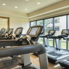 Отель Marriott Cancun Resort фитнесс-зал
