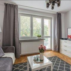 Апартаменты P&O Apartments Pulawska Варшава комната для гостей фото 5