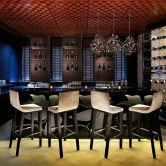 Отель Sofitel Abu Dhabi Corniche ОАЭ, Абу-Даби - 1 отзыв об отеле, цены и фото номеров - забронировать отель Sofitel Abu Dhabi Corniche онлайн гостиничный бар фото 2